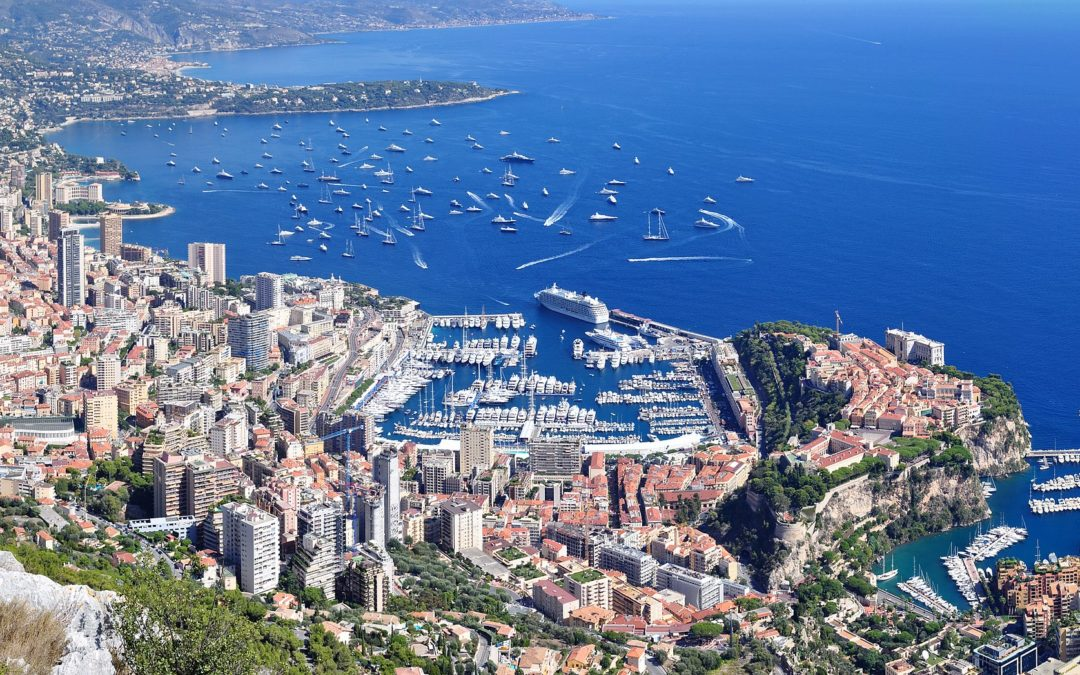 Panorama Monaco-La Turbie